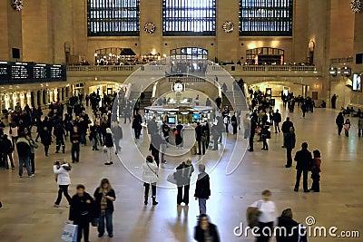 Grand Central Terminal New York USA Editorial Stock Photo