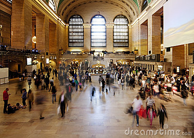 Grand Central train station ticket hall Editorial Photography