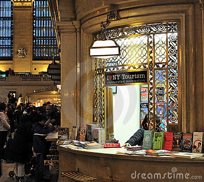 Grand centrals tourism information desk Editorial Stock Photo