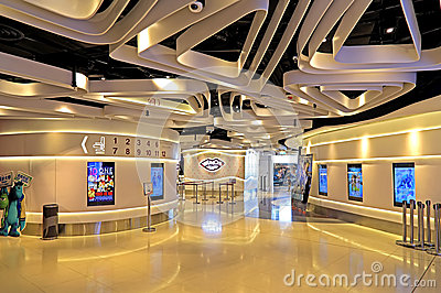 Grand cinema complex, hong kong Editorial Stock Image