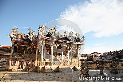 Grand clan temple