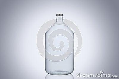 grand dame jeanne en verre de bouteille d 39 eau d. Black Bedroom Furniture Sets. Home Design Ideas