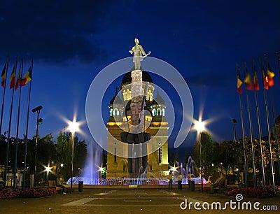 Grand dos d Avram Iancu, Cluj-Napoca, Roumanie 2