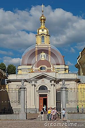 Grand Ducal Burial Vault Editorial Photo