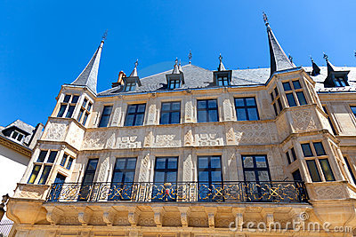 The Grand Ducal Palace, Luxembourg