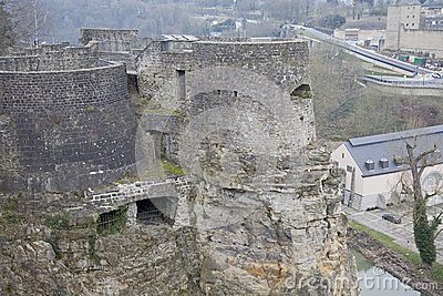 Luxembourg - the casemates
