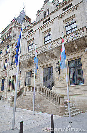 Palais Grand Ducal in Luxembourg