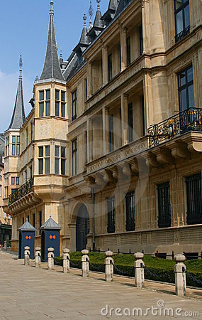 Grand-Duke s palace, Luxembourg