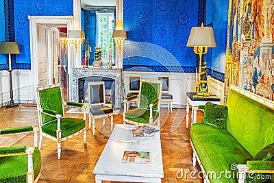 Grand Empress green cabinet.