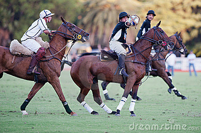 Grand Final of 70th Argentina Pato Open. Editorial Image