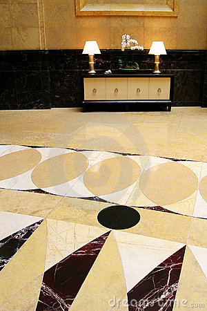 Free Grand Hall With Marble Flooring Stock Photo - 10916220
