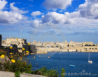 Grand Harbour and Valletta
