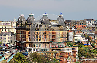 Grand Hotel in Scarborough England