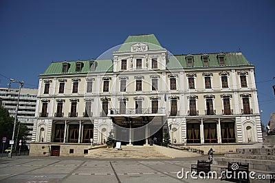 Grand Hotel Traian in Iasi (Romania) Editorial Stock Image