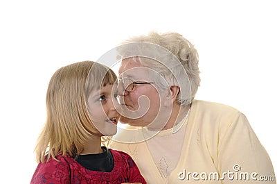 Grand-maman et petite-fille