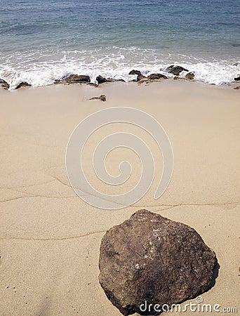 Rivage d océan