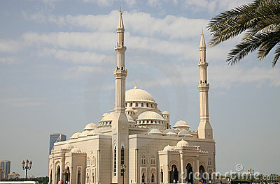 Grand Mosque in Sharjah