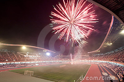 Grand opening of Cluj Arena Editorial Photo