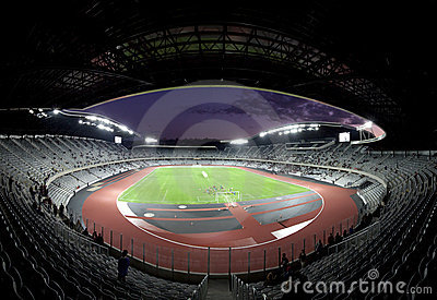 Grand opening of Cluj Arena Editorial Stock Photo