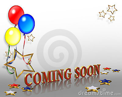 Grand opening Coming Soon Balloons