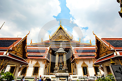 The Grand Palace Editorial Stock Photo