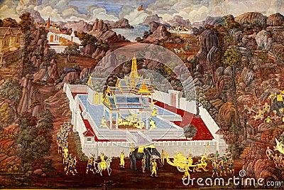 Grand palace art