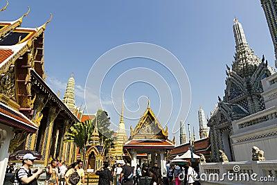 The Grand Palace - Bangkok Editorial Photo