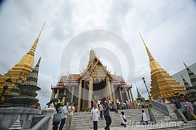 Grand Palace Bangkok Editorial Stock Photo