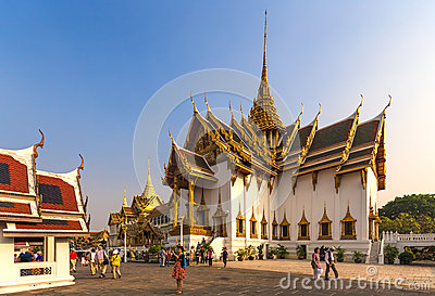 The Grand Palace, Bangkok, Thailand Editorial Stock Photo
