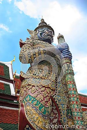 Free Grand Palace Guard - Bangkok Royalty Free Stock Image - 642826