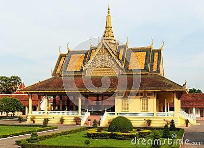 Grand Palace, Phnom Penh, Cambodia.