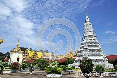 Grand palace Phom Penh Cambodia