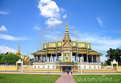 Grand Palace in Pnom Penh,