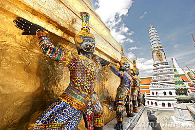 Grand Palace Sculptures