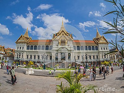 Grand Palace Editorial Stock Photo
