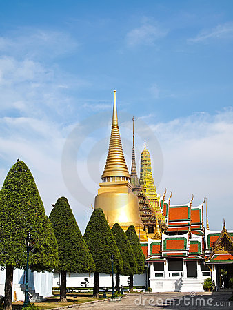 Grand Palace , tourism attraction in Bangkok
