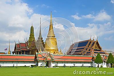 Grand Palace and Wat Phra Kaew,Bangkok,Thailan1