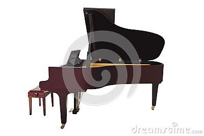Grand Piano Royalty Free Stock Images - Image: 25485759