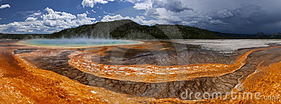 Grand Prismatic Hot Spring- Yellowstone