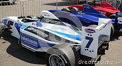 A1 Grand Prix cars Editorial Stock Photo
