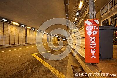 Grand Prix F1 track preparation 2011 Editorial Image
