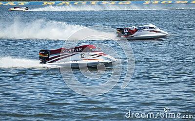 Grand Prix Formula 1 H2O Editorial Image