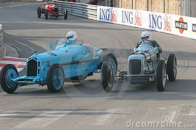 Grand Prix Historique Editorial Stock Photo