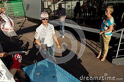 Grand Prix of Monaco, 2011 Editorial Photo