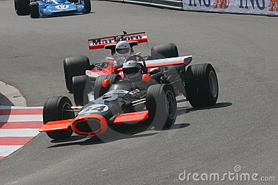 Grand Prix Montecarlo Editorial Photo