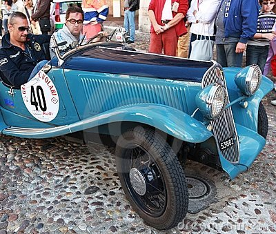 Grand Prix Nuvolari 2010 Editorial Stock Photo