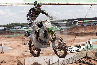 Grand Prix Russia FIM Motocross World Championship Editorial Stock Photo