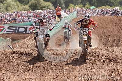 Grand Prix Russia FIM Motocross World Championship Editorial Image