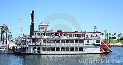 Grand Romance Riverboat Editorial Photography