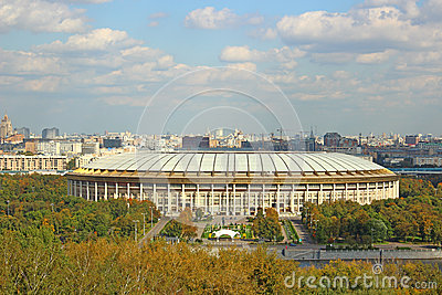 Grand Sports Arena in Moscow